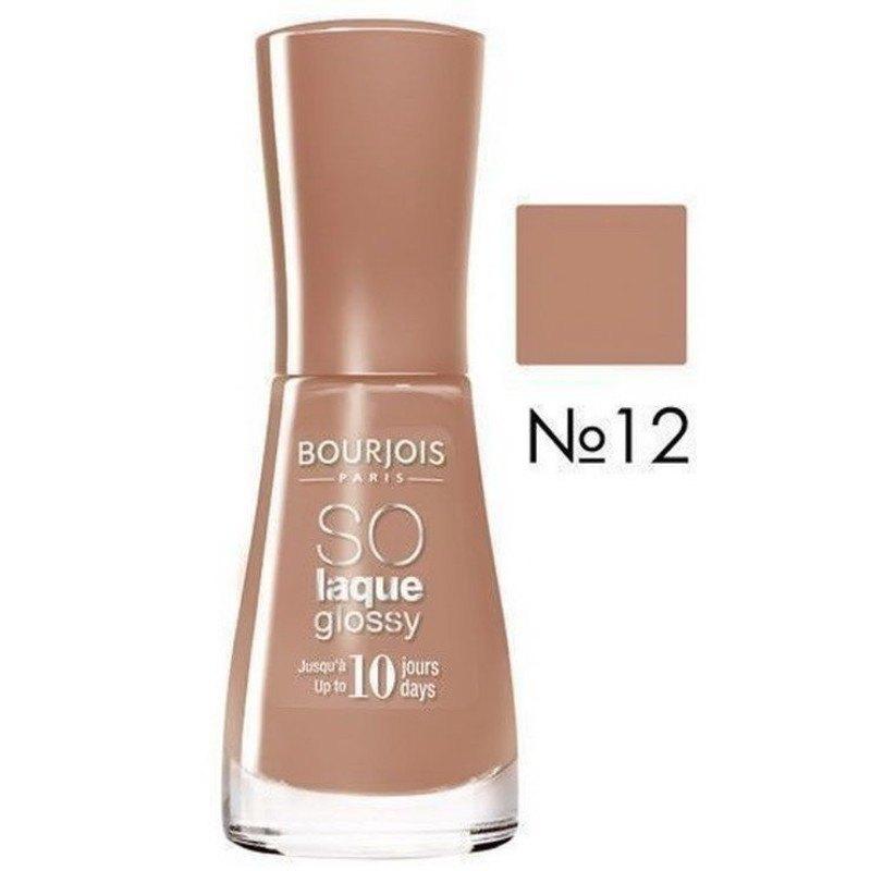 Bourjois Paris So Laque Glossy 10ml 12 Pina Chocolada oμορφια   μακιγιάζ   προϊόντα νυχιών   βερνίκια νυχιών