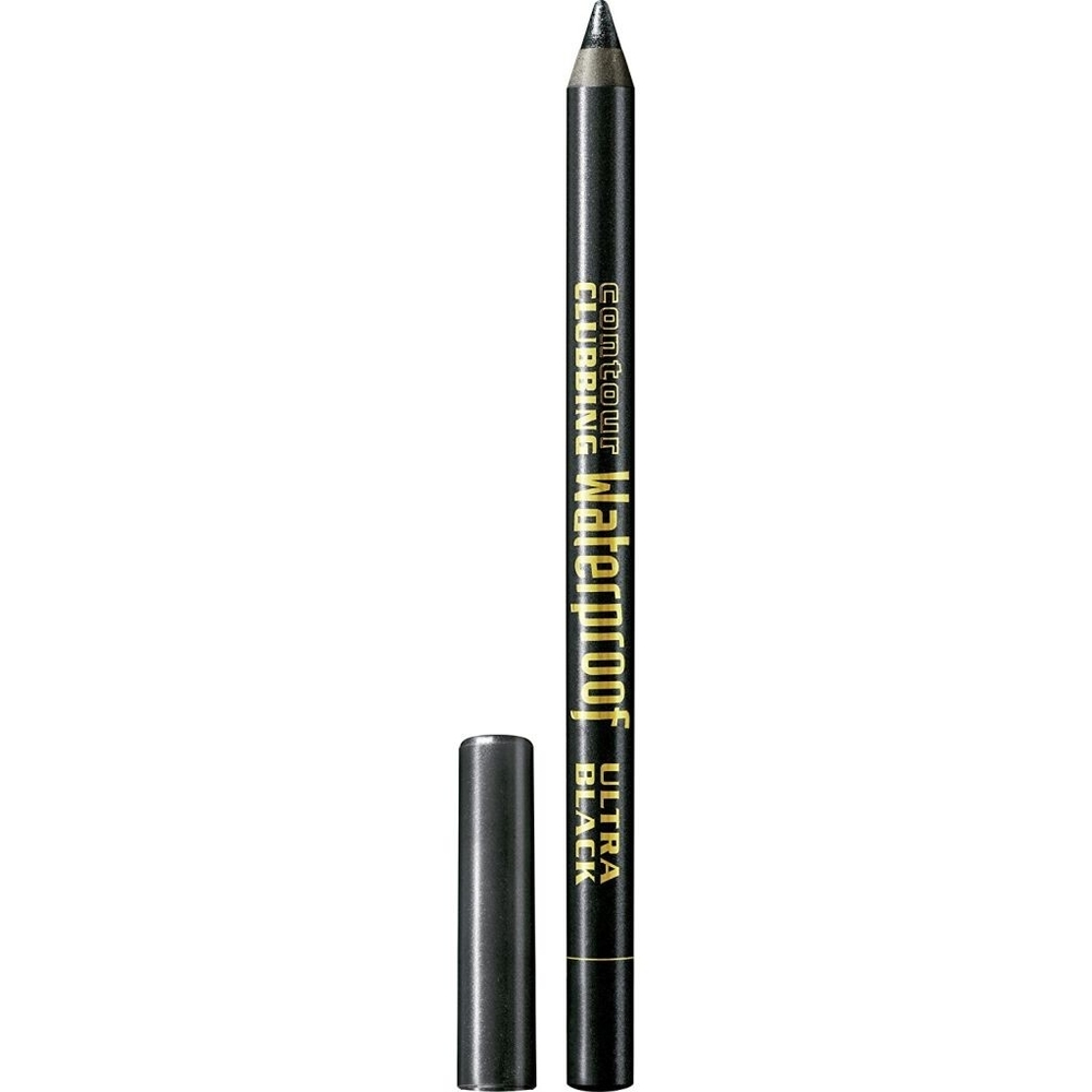 Bourjois Paris Contour Clubbing Eye Pencil 1,2gr Waterproof 54 Ultra Black oμορφια   μακιγιάζ   μακιγιάζ ματιών   μολύβια ματιών
