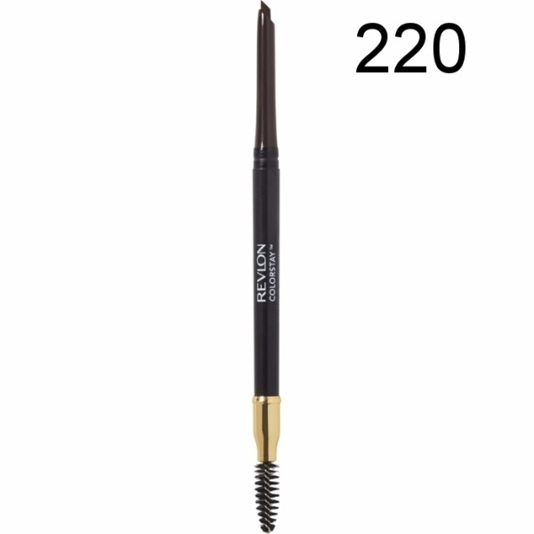 Revlon Colorstay Brow Pencil Eyebrow Pencil 0,35gr 220 Dark Brown