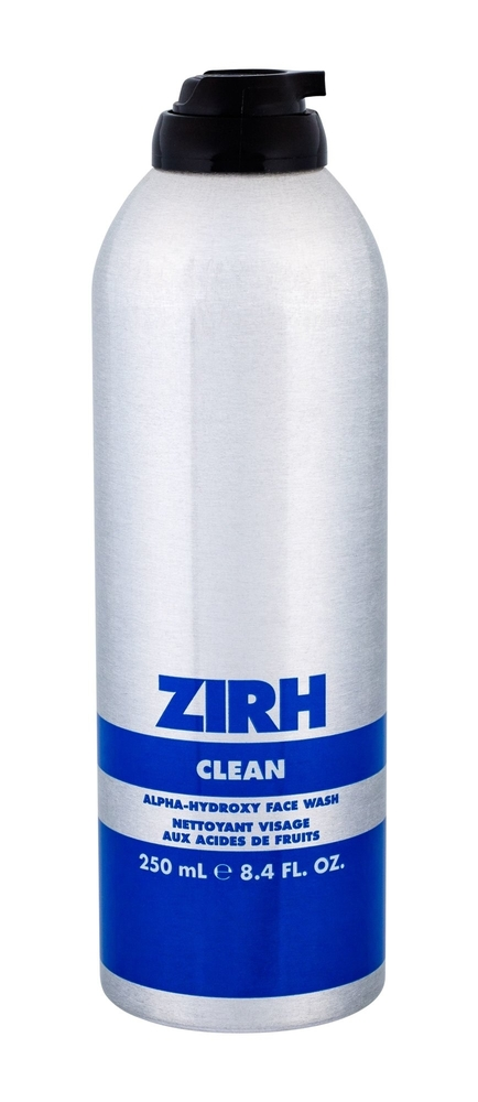 Zirh Clean Alpha-hydroxy Face Wash Cleansing Gel 250ml (All Skin Types)