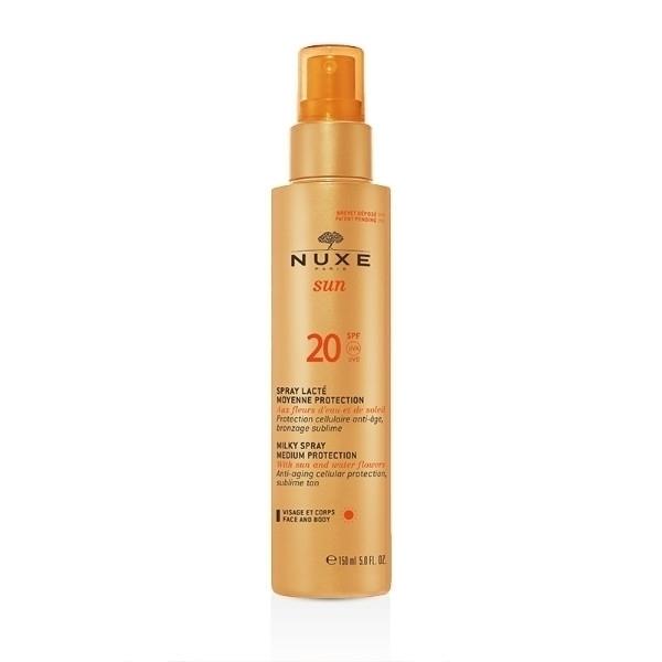 Nuxe Sun Milky Spray Sun Body Lotion 150ml Spf20