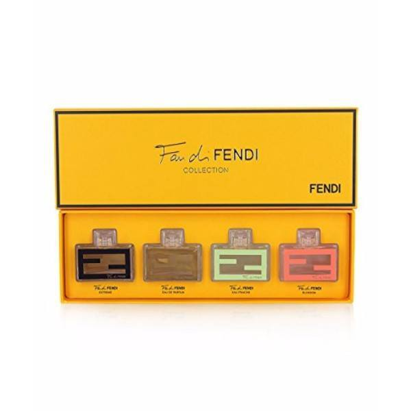 Fendi Fan Di Mini Set 4X4ml - 4ml Eau De Parfum Extreme & 4ml Eau De Parfum & 4ml Eau De Toilette Eau Fraiche & 4ml Eau De Toilette Fan Di Fendi Blossom