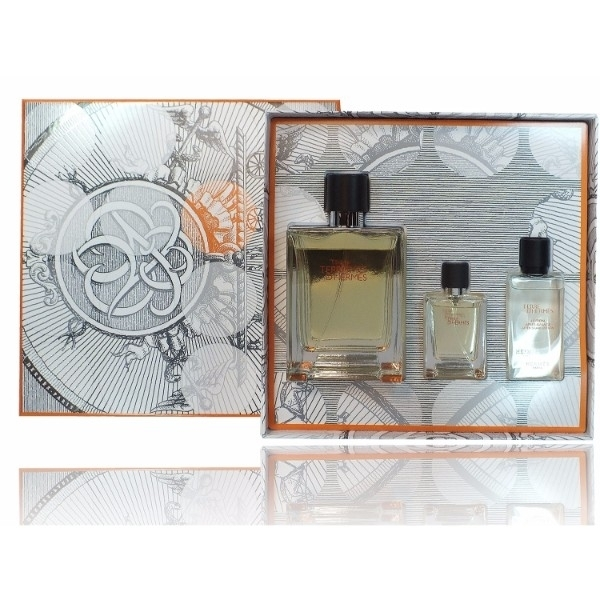 Hermes Terre D/ Eau De Toilette 100ml Combo: Edt 100 + 12,5ml Edt + 40ml Aftershave Lotion