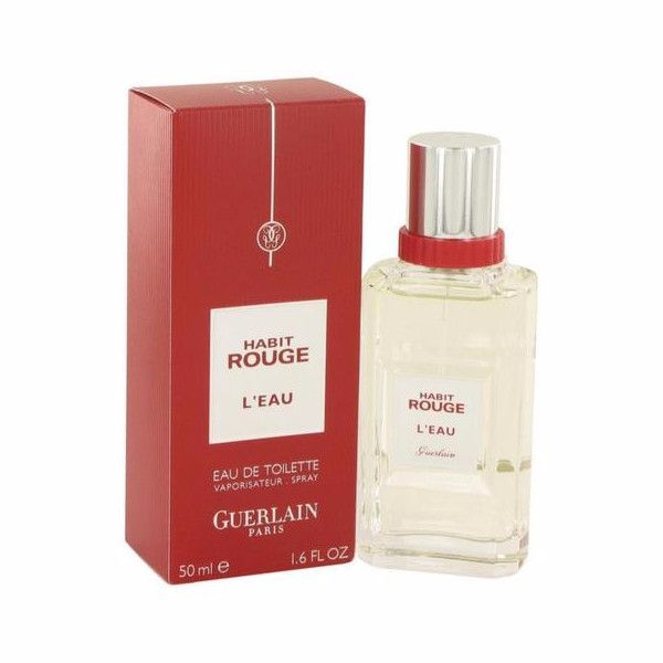 Guerlain Habit Rouge L'Eau Eau De Toilette 50ml