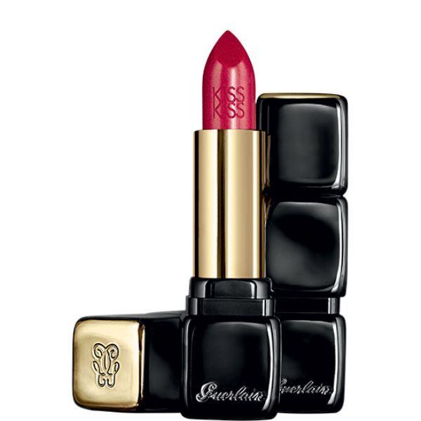Guerlain Kisskiss Shaping Cream Lip Colour 3,5gr 322 Red On Fire oμορφια   μακιγιάζ   μακιγιάζ χειλιών   κραγιόν