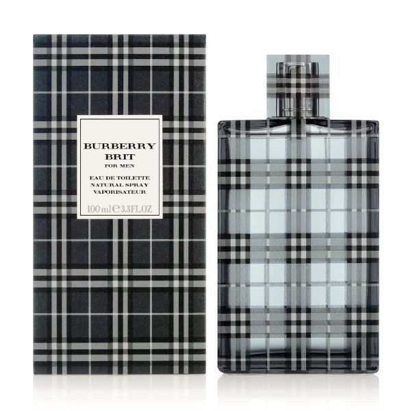 Burberry Brit Eau De Toilette 100ml For Men