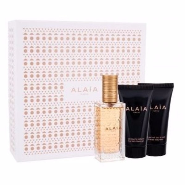 Azzedine Alaia Alaia Blanche Eau De Parfum 50ml Combo: Edp 50 Ml + Body Lotion 50 Ml + Shower Gel 50 Ml