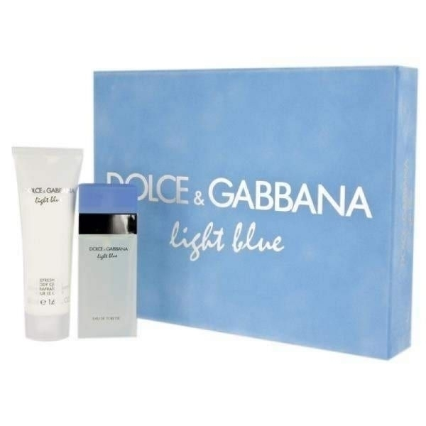 Dolce Light Blue Eau De Toilette 100ml + Body Cream 100ml