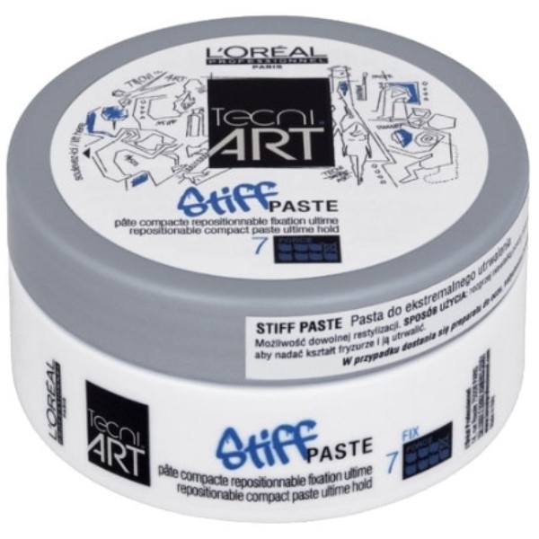 Loreal Professionnel Stiff Paste Tecni Art - Shaping Hair Pasta 75ml oμορφια   μαλλιά   styling μαλλιών   κερί μαλλιών