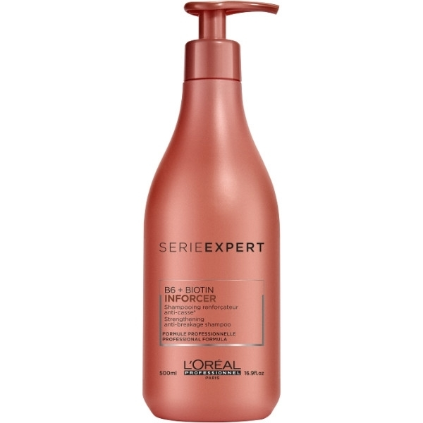 L/oreal Professionnel Serie Expert Inforcer Shampoo 500ml (Brittle Hair)