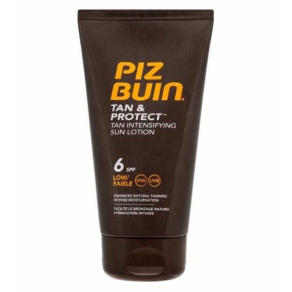 Piz Buin Tan & Protect Tan Intensifying Sun Lotion Sun Body Lotion 150ml Spf6