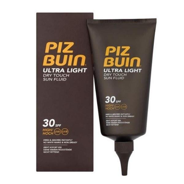 Piz Buin Ultra Light Dry Touch Sun Fluid Sun Body Lotion 150ml Spf30