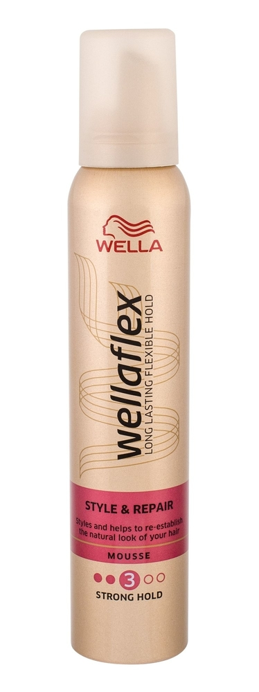 Wella Flex Style Repair Hair Mousse 200ml (Strong Fixation) oμορφια   μαλλιά   styling μαλλιών   αφροί μαλλιών