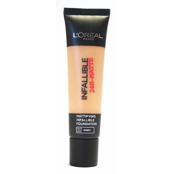 L/oreal Paris Infallible 24h-matte Makeup 35ml 32 Amber