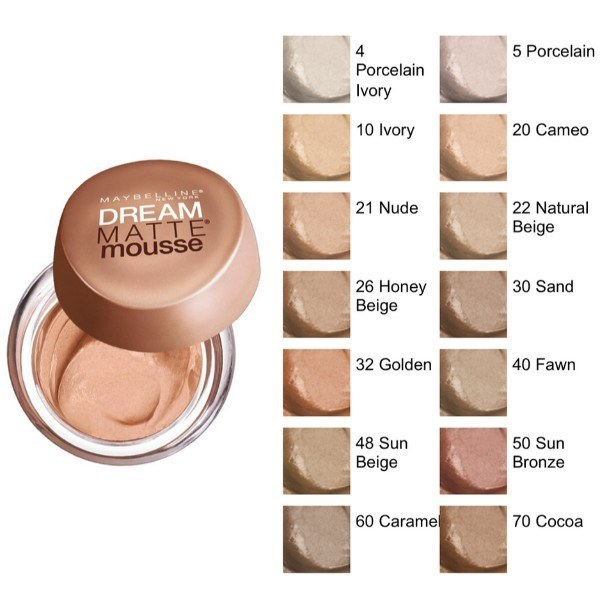 MAYBELLINE Dream Matte Mousse SPF 15 21 Nude 18ml