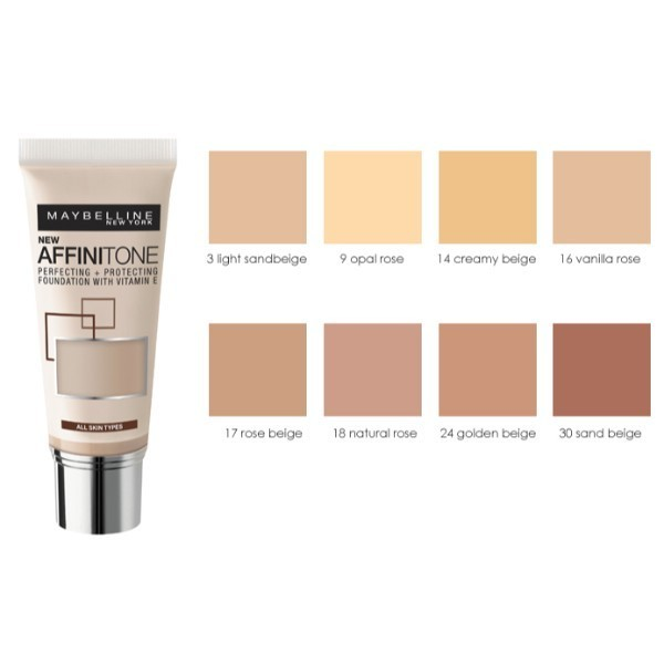 MAYBELLINE Affinitone podklad 24 Golden Beige 30ml