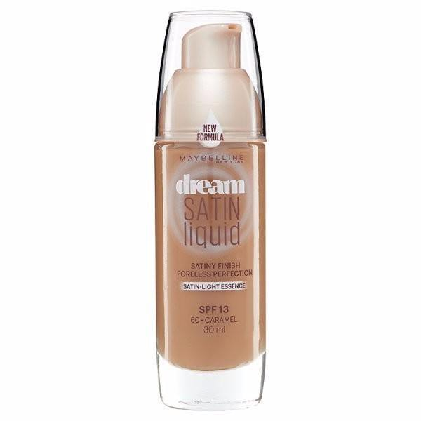 Maybelline Dream Satin Liquid Foundation SPF13 30ml 60 Caramel