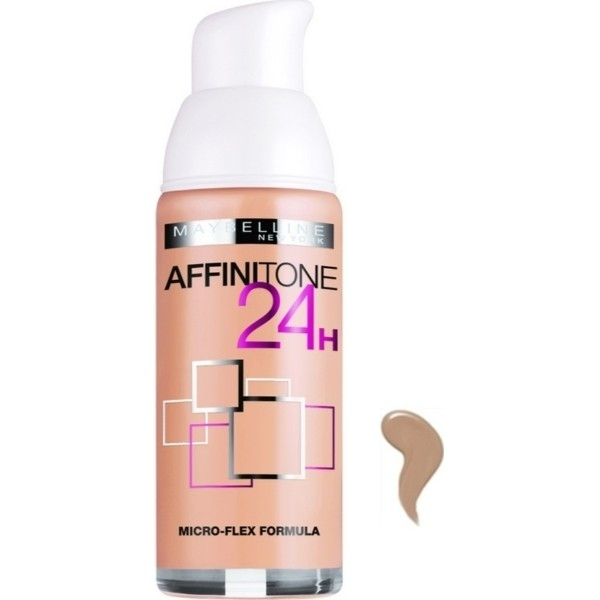 Maybelline Affinitone Foundation 24h Spf19 30 Sand 30ml