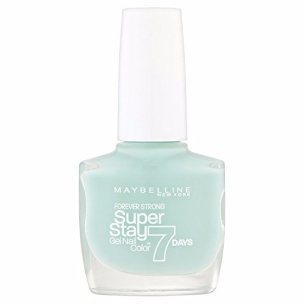 Maybelline Forever Strong Super Stay 7 Days Nail Color 10ml 615 Mint For Life
