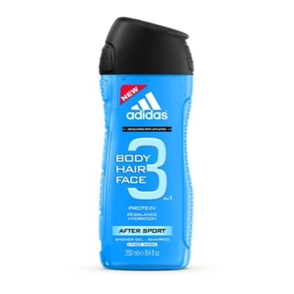 Adidas After Sport 3in1 Shower Gel 250ml