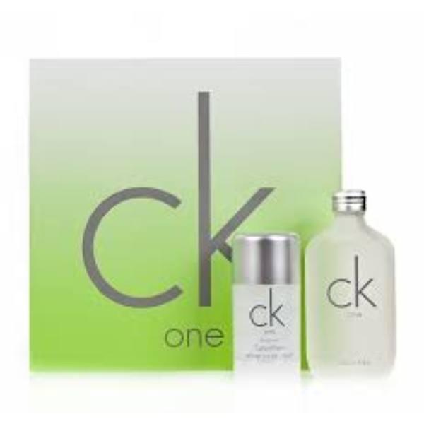 Calvin Klein Ck One Eau De Toilette 100ml Combo: Edt 100ml + 75ml Deo Stick