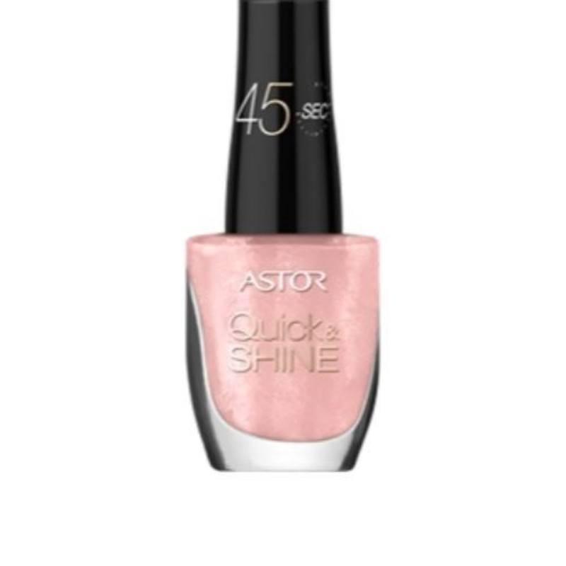 Astor Quick & Shine Nail Polish 8ml 103 Sweet Home oμορφια   μακιγιάζ   προϊόντα νυχιών   βερνίκια νυχιών