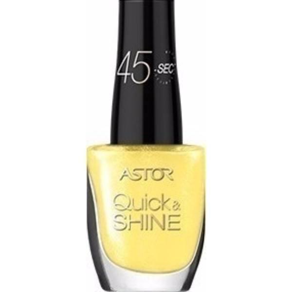 Astor Quick & Shine Nail Polish 8ml 603 Happy Style oμορφια   μακιγιάζ   προϊόντα νυχιών   βερνίκια νυχιών