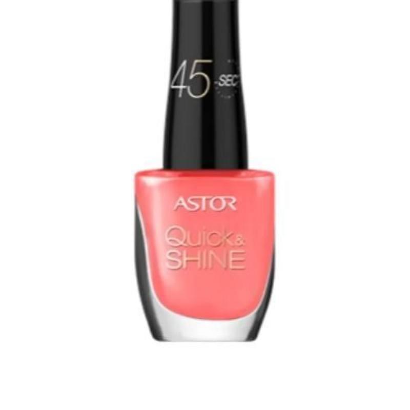 Astor Quick & Shine Nail Polish 8ml 309 Time For Holiday oμορφια   μακιγιάζ   προϊόντα νυχιών   βερνίκια νυχιών