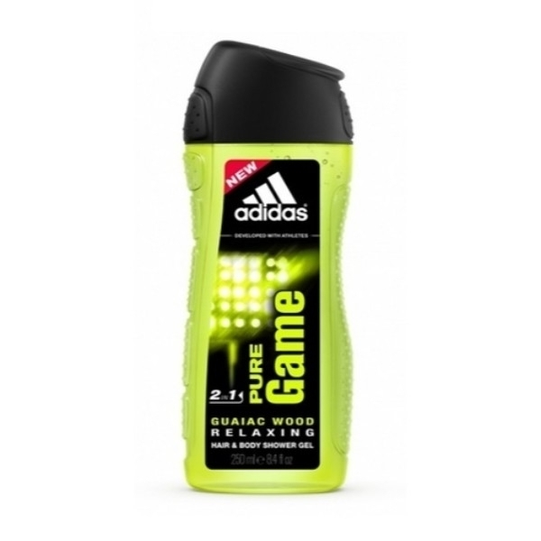 Adidas Pure Game 2in1 Shower Gel 250ml
