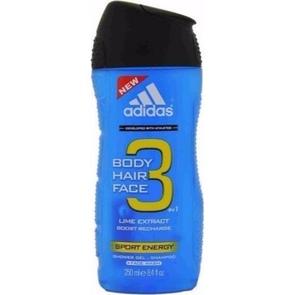 Adidas Sport Energy 3in1 Shower Gel 250ml