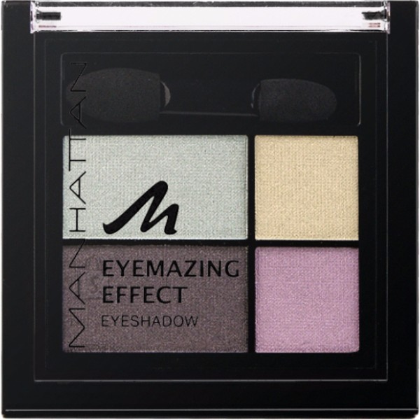Manhattan Eyemazing Effect Eyeshadow Palette 15gr 81D Pastel The Truth oμορφια   μακιγιάζ   μακιγιάζ ματιών   σκιές ματιών