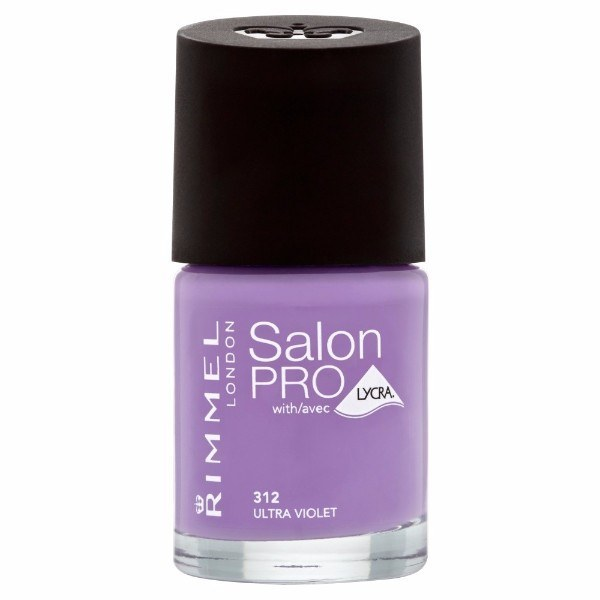 Rimmel For Salon - Nail Polish 8ml 312 Ultra Violet
