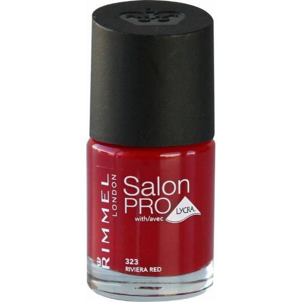 Rimmel For Salon - Nail Polish 8ml 323 Riviera Red
