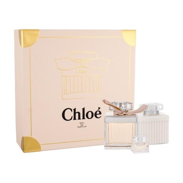 Chloe Eau De Parfum 75ml Combo: Edp 75ml + 100ml Body Lotion + 5ml Edp