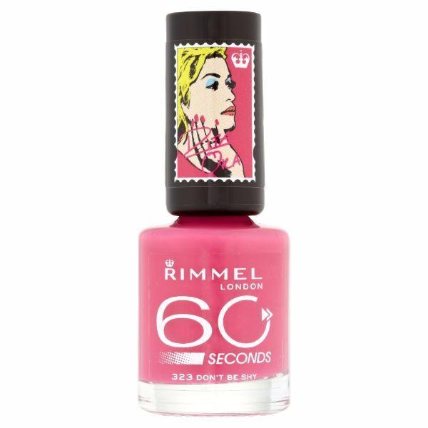 Rimmel 60 Seconds - Nail Polish 8ml 323 Don'T Be Shy
