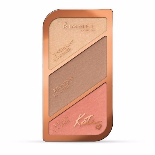 Rimmel London Kate Powder 18,5gr 002 Coral Glow oμορφια   μακιγιάζ   μακιγιάζ προσώπου   σετ μακιγιάζ