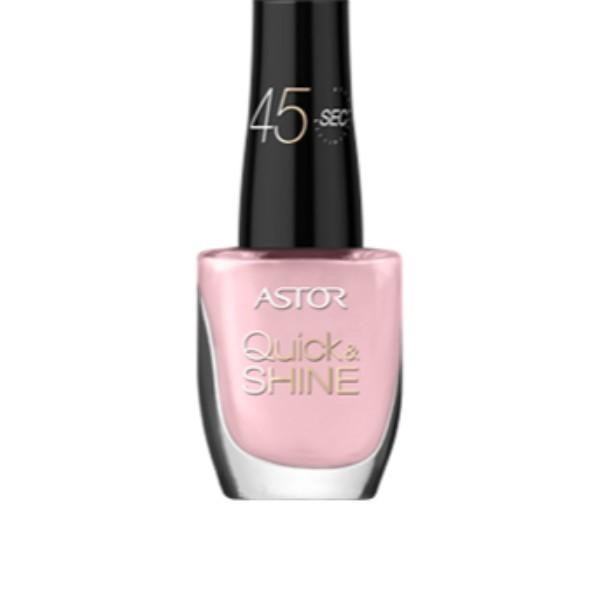 Astor Quick Shine Nail Polish 8ml 606 Pink Matter oμορφια   μακιγιάζ   προϊόντα νυχιών   βερνίκια νυχιών