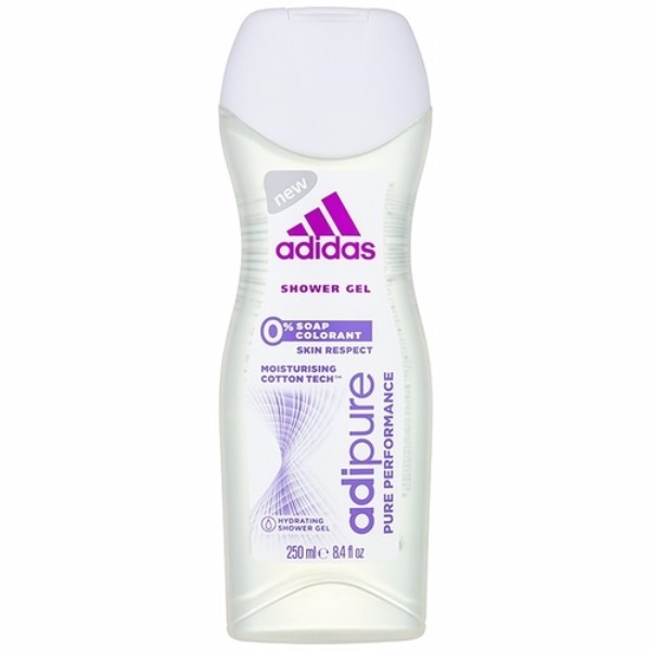 ADIDAS AdiPure Women SHOWER GEL 250ml