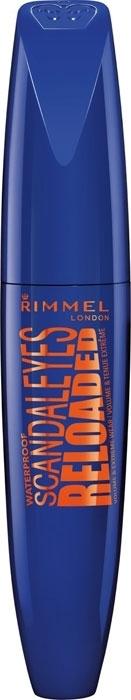 Rimmel London Scandal Eyes Reloaded Mascara 12ml Waterproof 001 Black