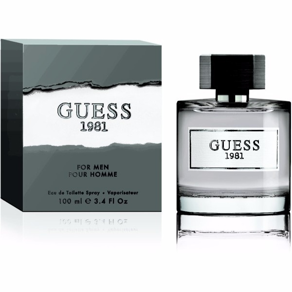 Guess Guess 1981 For Men Eau De Toilette 100ml