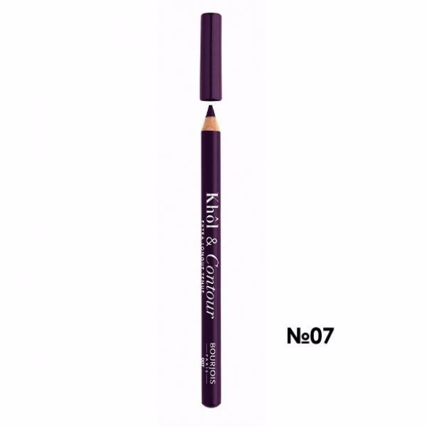 Bourjois Paris Khol & Contour Eye Pencil 1,2gr 007 Prunissime