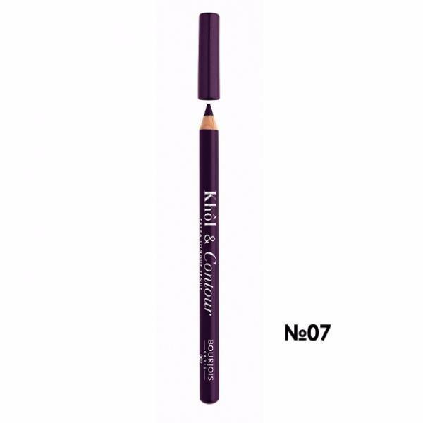 Bourjois Paris Khol & Contour Eye Pencil 1,2gr 007 Prunissime oμορφια   μακιγιάζ   μακιγιάζ ματιών   μολύβια ματιών
