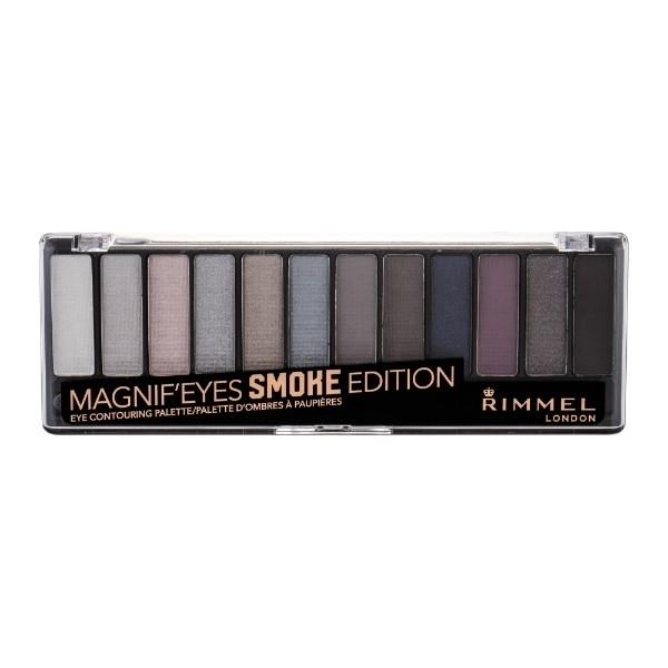 Rimmel London Magnif Eyes Contouring Palette Eye Shadow 14,16gr 003 Smoke Edition