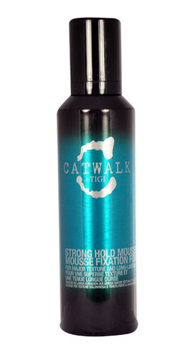 Tigi Catwalk Strong Hold Mousse Hair Mousse 200ml (Strong Fixation)