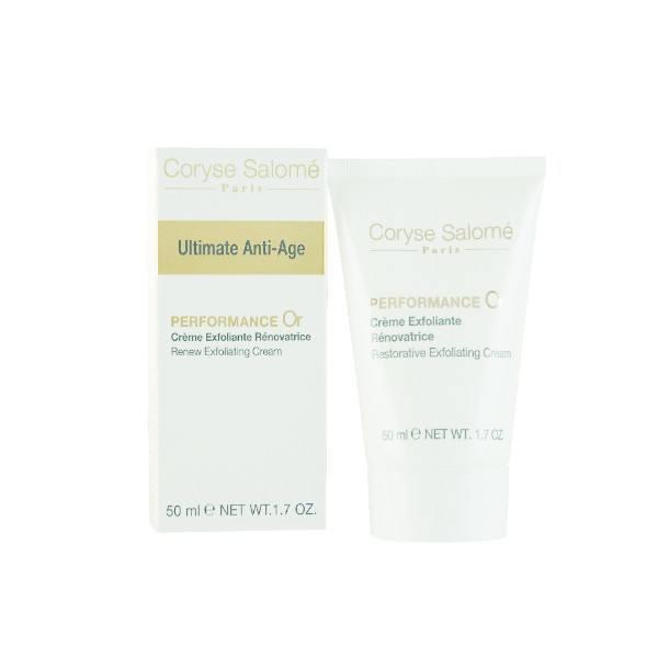 Coryse Salome Ultimate Anti-Age Performance Or Renew Exfoliating Cream 50ml oμορφια   πρόσωπο   peeling   scrub