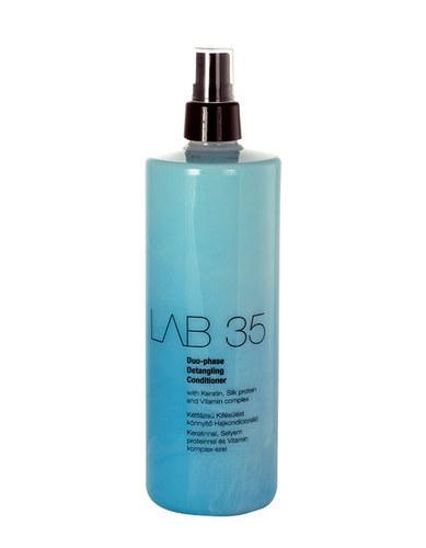KALLOS LAB 35 Duo-Phase Detangling Conditioner dwufazowy wygladzajacy i ulatwiajacy czesanie spray do wlosow 500ml