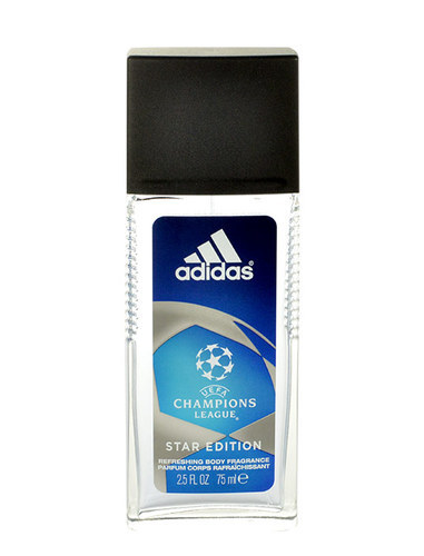Adidas Uefa Champions League Star Edition Deodorant 75ml Aluminum Free (Deo Spray)