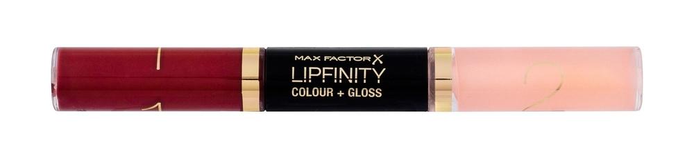 Max Factor Lipfinity Colour + Gloss Lipstick 2x3ml 660 Infinite Ruby (Glossy)
