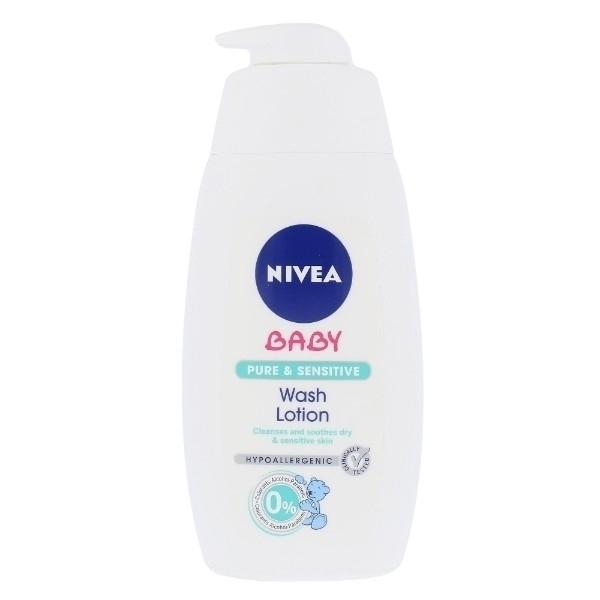 Nivea Baby Pure & Sensitive Wash Lotion Cleansing Gel 500ml