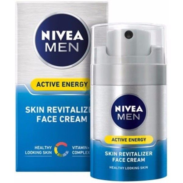 Nivea Men Active Energy Skin Energy Day Cream 50ml (All Skin Types - For All Ages)
